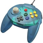 retro-bit Tribute Controller for Nintendo 64 - wired - Ocean Blue