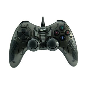 Dolphix USB game controller with wire - for PC - black