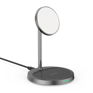 Choetech Chargeur / Support Magnétique Sans Fil 2 en 1 - 15 W