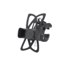 Phone holder for bicycle - up to 80mm - black