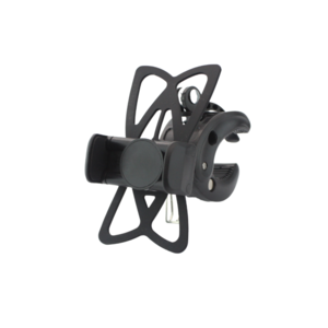 Phone holder for bicycle - suitable from 50 to 80mm - black