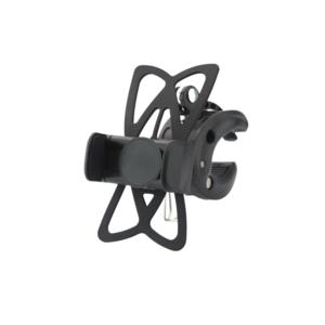 Support de téléphone pour vélo - convient de 50 à 80 mm - noir