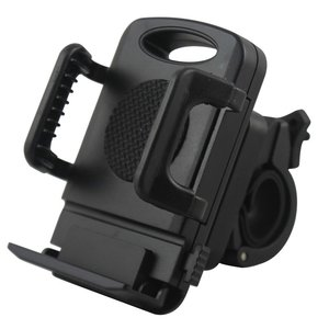 Phone holder for bicycle - 50-94mm - black