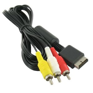 RGB AV Cable for Playstation 1, 2 and 3