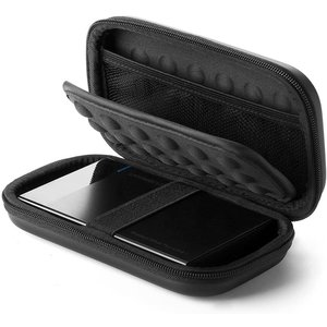 Protective cover for 2.5 inch hard disk and accessories - black