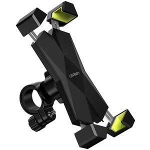 Phone holder for bicycle - 360 degrees rotatable - up to 6.5 inches