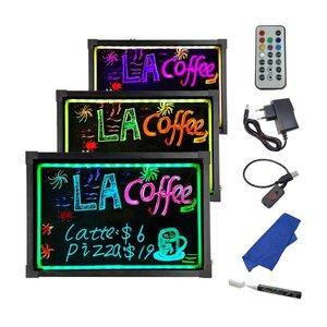 LED Schreibplatte 80 x 60 cm