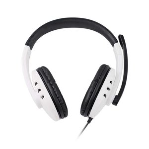 Game headset with 3D sound effect and noise canceling