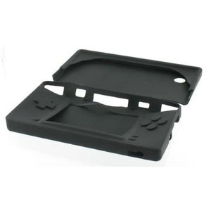 Silicone protective cover for DSi, black, covered Buttons