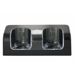 Duo Charge Station Noir pour Wii et WiiU Télécommandes