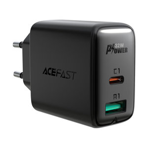 ACEFAST Power Adapter USB-A and USB-C PD 3.0 - Fast Charge - 32W
