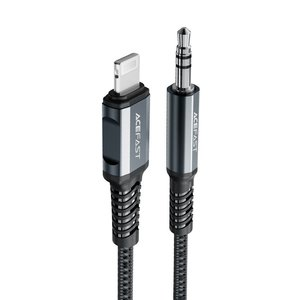 ACEFAST Lightning (male) to 3.5mm jack (male) audio cable - MFI certified - 1.2m