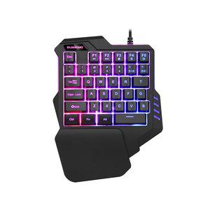 35-key gaming keyboard - RGB lighting - Macro recording - Wrist support