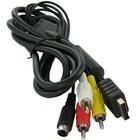 Câble Tulip S-Video + AV pour Playstation 2 et 3