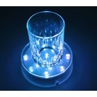 LED Plateau Multikleur 10cm rond