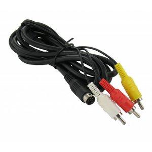 AV-Kabel für Sega Mega Drive 2 und 3