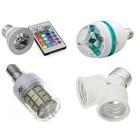 Lampes LED, projecteurs et accessoires