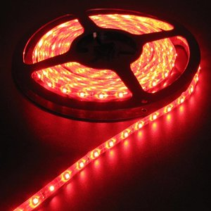 Rood 5 Meter 60 LED 12 Volt Oranje PCB