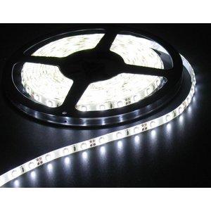 Helder Wit 5 Meter 60 LED 12 Volt Wit PCB