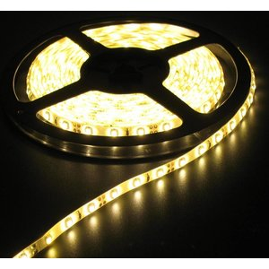 Warm Wit 60led Wit pcb 5 meter IP65 Compleet
