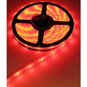 24 Volt RGB LED Strip 30led p/m 5 meter IP68