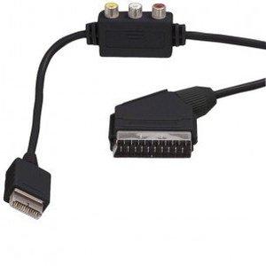 Câble péritel avec composite RCA pour PS1 / PS2 / PS3 1.8m