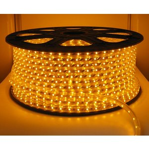 100 Meter High Voltage LED Strip Yellow