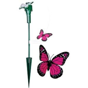 Vlinder op Zonne-energie
