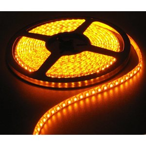 Jaune Orange PCB 120led 5m IP65 complète