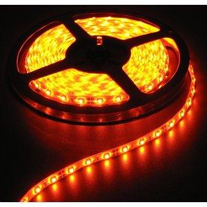 Oranje 5 Meter 60 LED 12 Volt Wit PCB