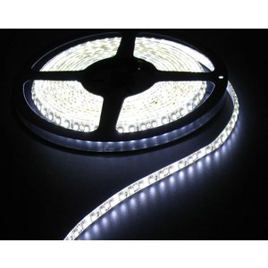 Cold White White pcb 120led 5m IP65 Complete