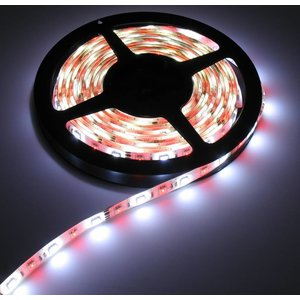 RGB+W LED Strip 60led p/m 5 meter IP65 Compleet