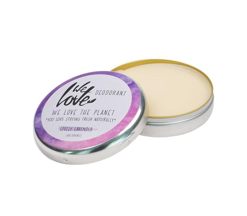 Natuurlijk deodorant 48 gram - We Love The Planet - Lovely Lavender