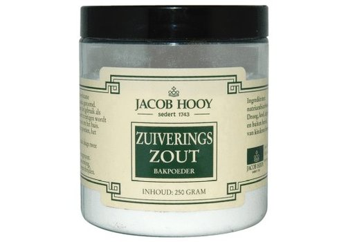 Jacob Hooy Zuiveringszout / baking soda 250 gram - Jacob Hooy