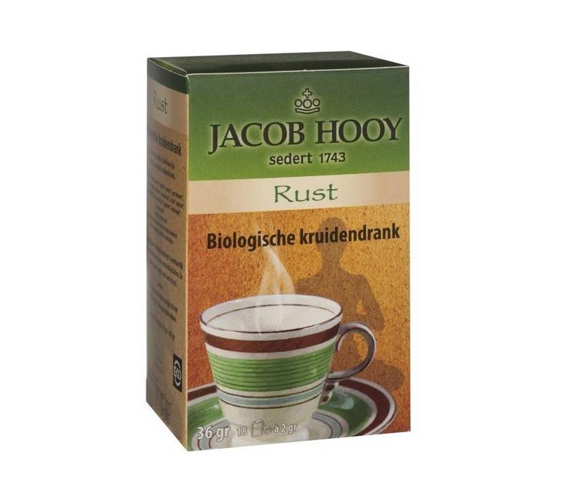 Bio thee Rust 18 zakjes - Jacob Hooy