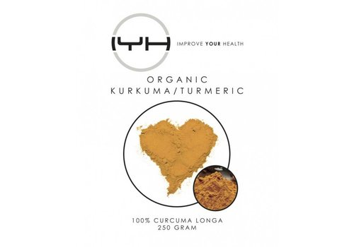 Improve Your Health Kurkuma biologisch 250 gr - Improve Your Health