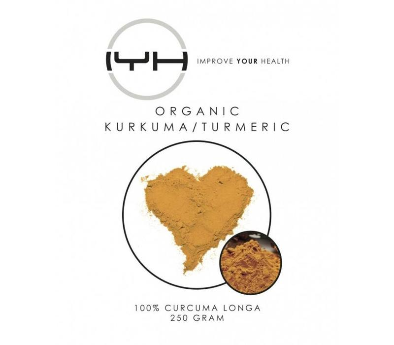 Kurkuma biologisch 250 gr - Improve Your Health