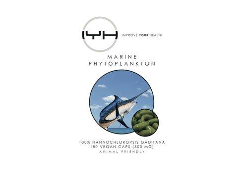 Improve Your Health Marine Phytoplankton 180 v-caps 500 mg  - Improve Your Health