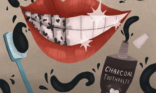 Let op deze 3 belangrijke dingen als je zwarte tandpasta koopt