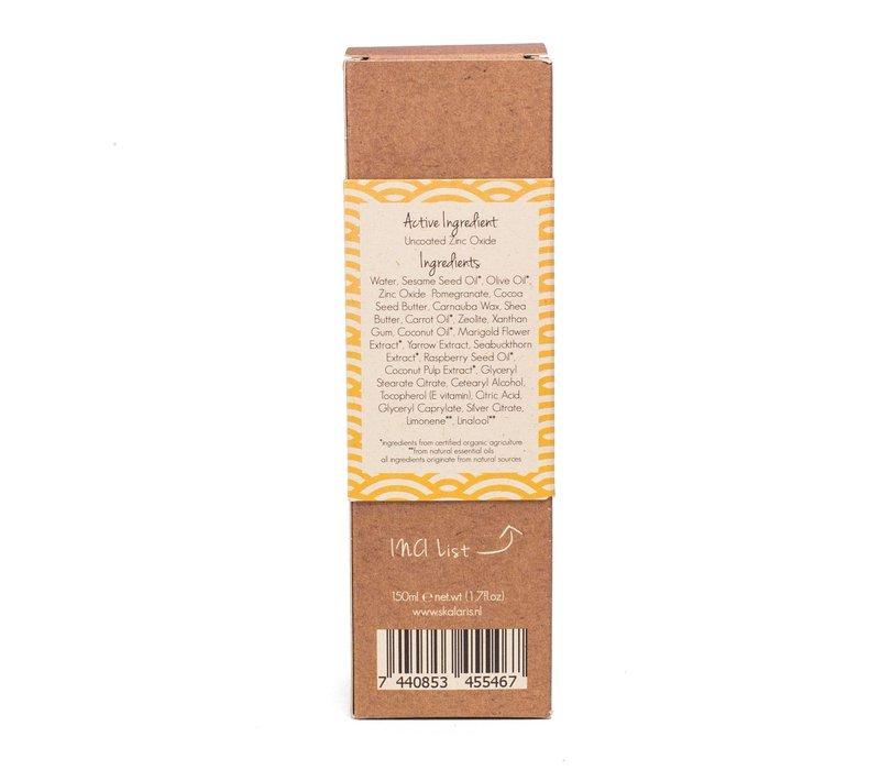 Natuurlijke zonnebrand lotion 150 ml SPF 15 - Skalaris