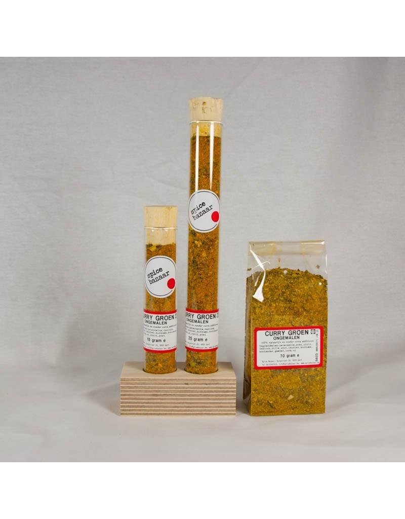 Curry Groen Ongemalen