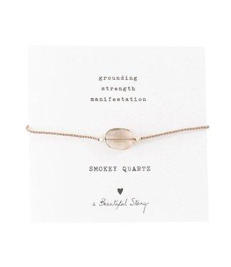A BEAUTIFUL STORY Gemstone Card Smokey Quartz