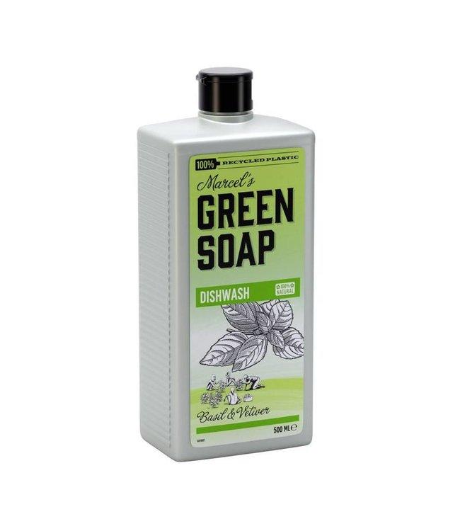 Marcel's Green Soap Afwasmiddel Basilicum & Vetiver