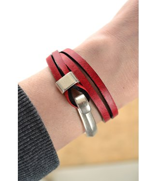 DEERO  Armband Wrap Red