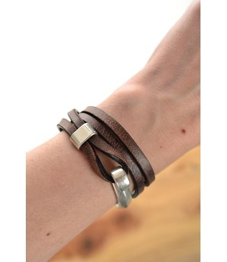 DEERO  Armband Wrap Cafe Antik