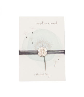 A BEAUTIFUL STORY Jewelry Postcard Dandelion