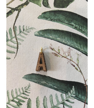 """ALL THINGS WE LIKE Houten letter """"A"""" 