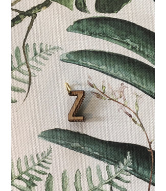 "ALL THINGS WE LIKE Houten letter ""Z"" 