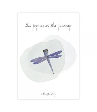 A BEAUTIFUL STORY Postcard Dragonfly