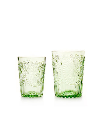 VAN VERRE Fleur de Lys Glas Groen